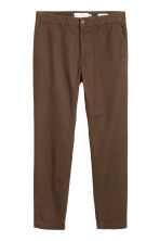 Cotton chinos - Dark brown - Men | H&M 2